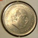 SPAIN 1957 (73) 5 Peseta -- KM786 -- UNC