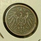 GERMANY 1906-A 2 Pfennig -- XF