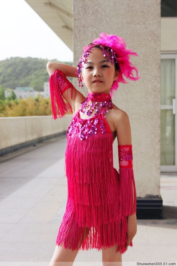 latin dress ballroom dress dance dress style 4
