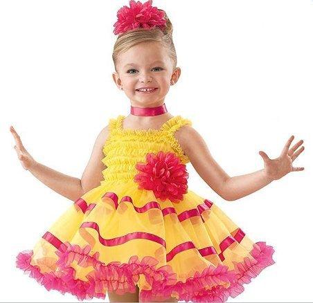 Girl BALLET TUTU DANCE DRESS PARTY DRESS style19