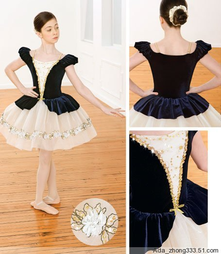 Girl BALLET TUTU DANCE DRESS PARTY DRESS style48