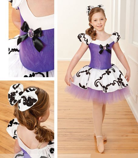 Girl BALLET TUTU DANCE DRESS PARTY DRESS style50