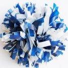 "cheerleading pom pom 3/4*6"" pom custom color baton dual-head on pair poms"