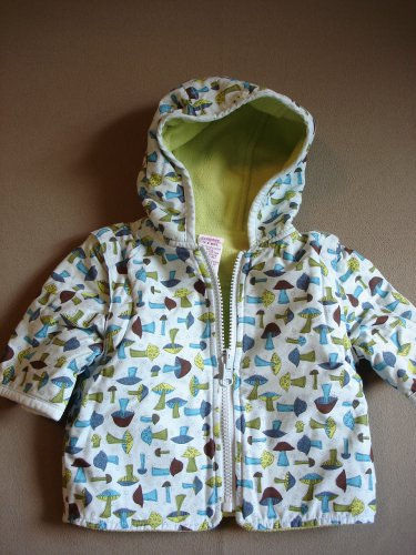 Kids Infant Girls Hooded Reversible Jacket By Gymboree Size 3-6M