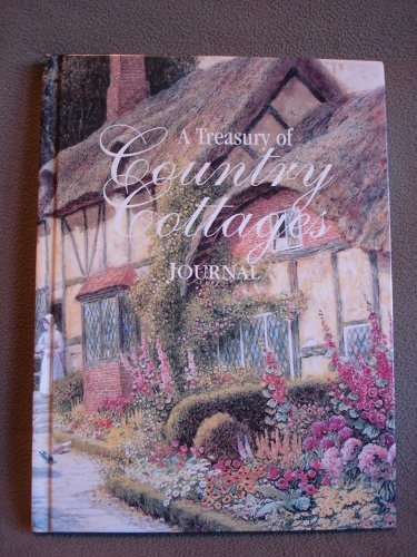 A Treasury of Country Cottages Journal NEW Hardcover Book A Daily Journal