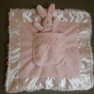 N17 Infant Baby Nursery Bunnies By The Bay Security Blanket Home Decor