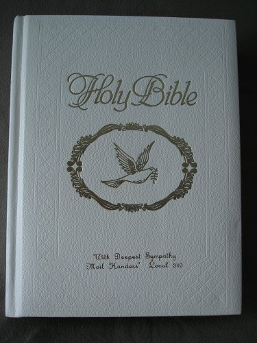 Holy Bible Dove of Peace Edition Nelson 155 WDP Copyright 1971