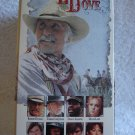 VHS Lonesome Dove 4 Tape Set