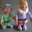 T13 Disney Posable Dopey & Sneezy Snow White & the Seven Dwarfs