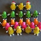 Rubber Critters Soft Spiked Toys Lot of 71 Wide Assortment