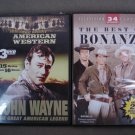 DVD's Lot of 2 Westerns Total 52 Movies