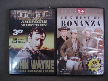 DVD�s Lot of 2 Westerns Total 52 Movies