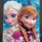 Disney Frozen Follow Your Heart Storybook Pillow Home Decor