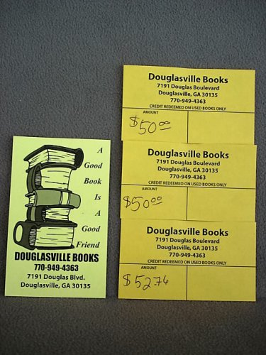 Book Purchase Credit Vouchers