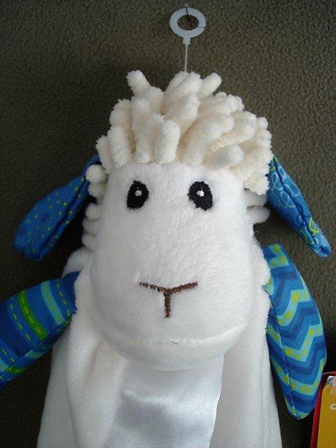 N118 Infant Baby Nursery Security Blanket Wee Believers NEW Levi the Little Lamb