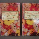 Address Telephone Directory Book & Notebook Hardcover My Teddy Garden Collection