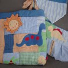 N85 Infant Baby Nursery Bedding Set NoJo Baby Dinosaurs Home Decor