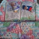 N5 Infant Baby Dolly Inc Nursery Crib Set Mary Beary & Little Bear Blue Home Decor