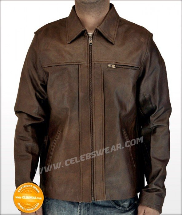 New Inception Cobb Brown Vintage Movie Leather Jacket