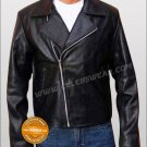 Nicolas Cage Ghost Rider Biker Black Leather Jacket