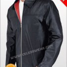 Daniel Craig Layer Cake Leather Jacket with Red Lining