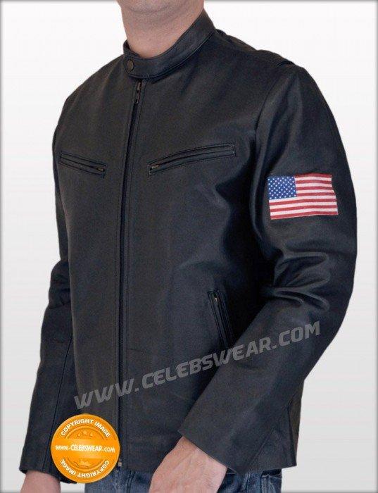 Swordfish Stanley Jobson Black Rider Leather Jacket