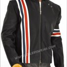 Peter Fonda Easy Rider Jacket Captain America with Flag