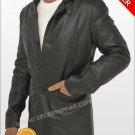Max Payne Black Lambskin Cool Leather Jacket / Coat