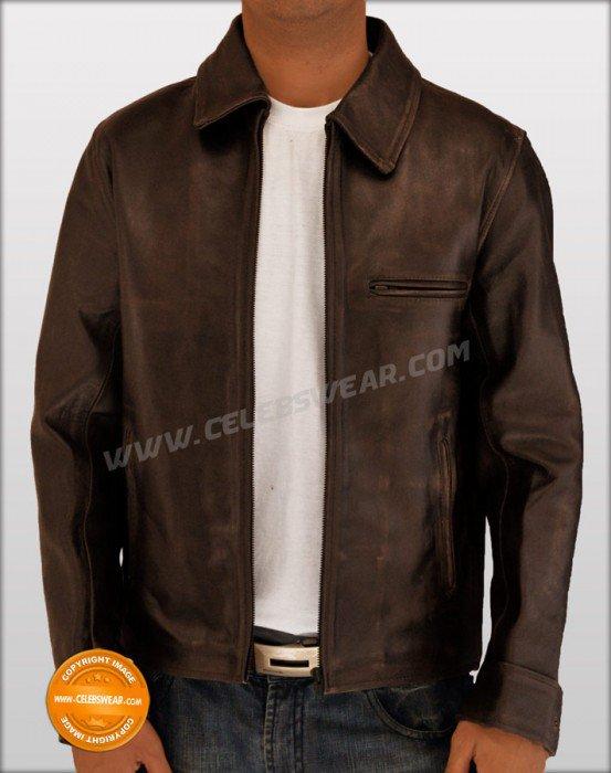 Surrogates Bruce Wills Leather Jacket