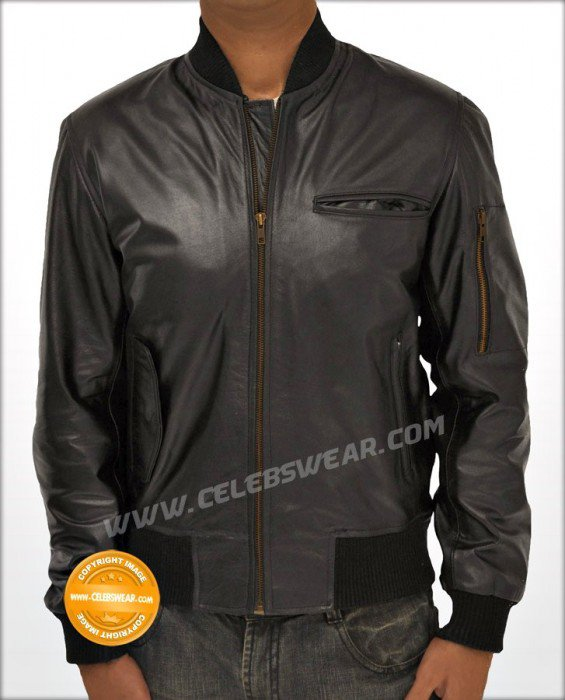 Wall Street Money Never Sleeps Leather Jacket