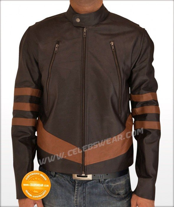 X Men Wolverine Logans Leather Jacket