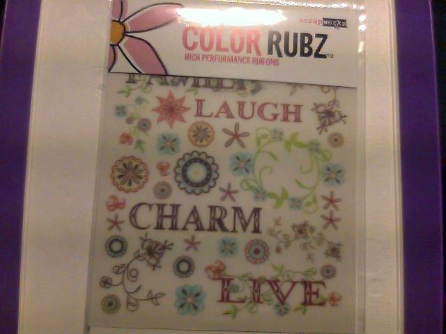 Scrap Works Color Rubz