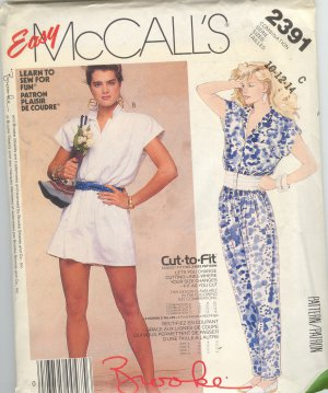 McCall 2391 - Brook Shields Collection
