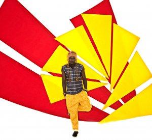 Yellow Ankara Turn-Up Pants