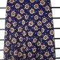 Blue Floral High Waste Long Skirt