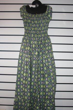 Green Designed Long Dress