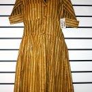 Mustard/Tan 60's Dress