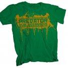 Predator Dub Assassins Bomber T-Shirt Green/Yellow