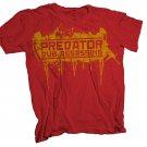 Predator Dub Assassins Bomber T-Shirt Red/Yellow