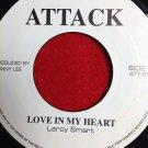 Leroy Smart - Love In My Heart / Version (1977)
