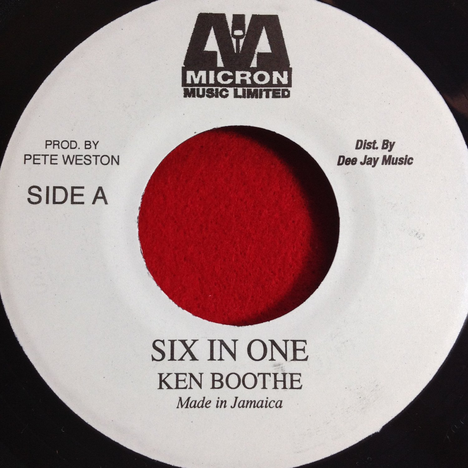 Ken Boothe - Six In One (Train Is Coming) / Six In One ( Moving Away) (1975)