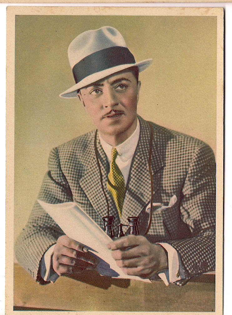 GODFREY PHILLIPS William Powell MINT CARD