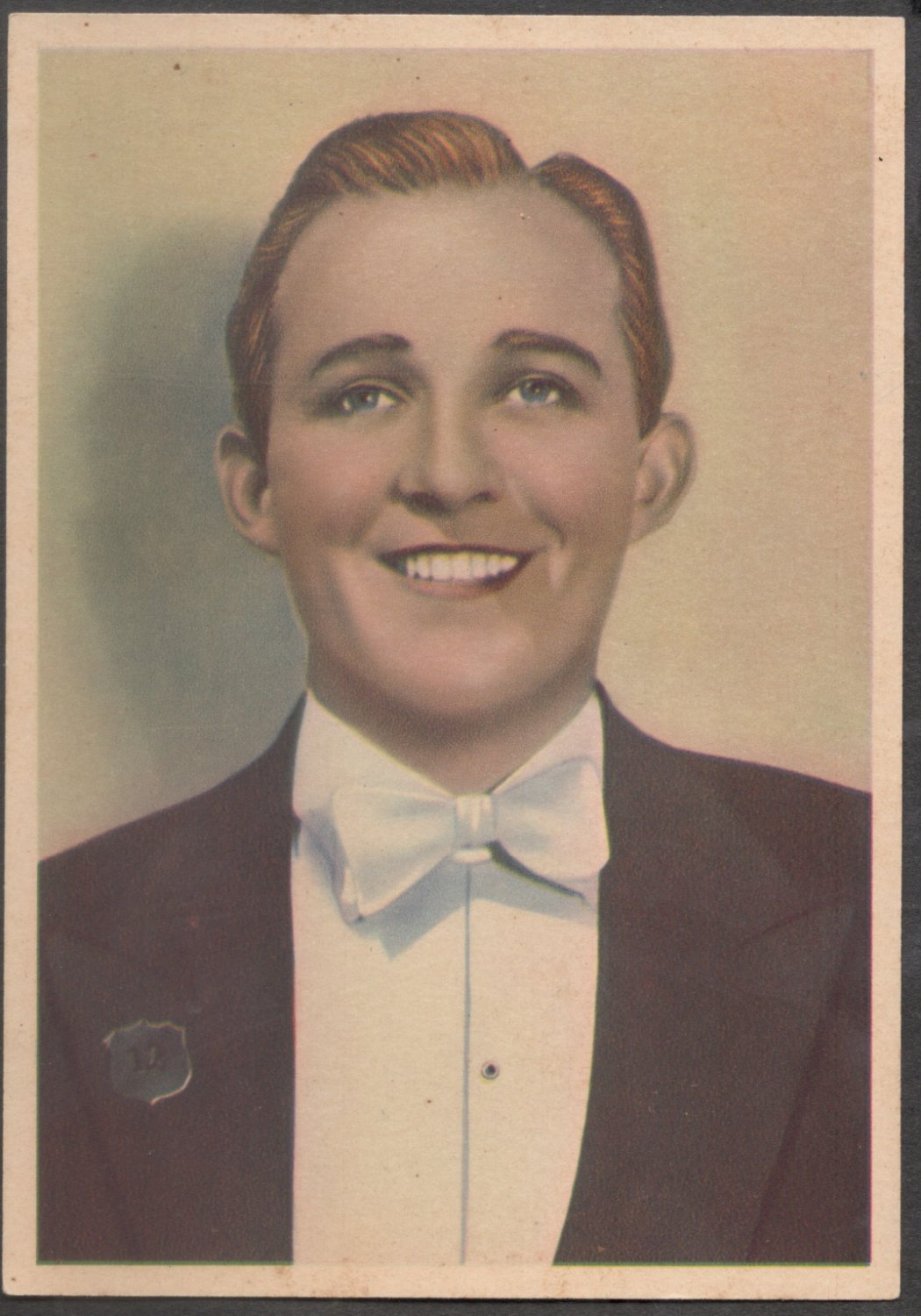 GODFREY PHILLIPS Bing Crosby MINT CARD