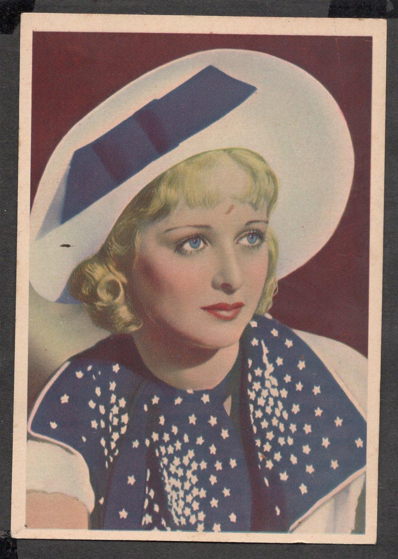 GODFREY PHILLIPS Joan Bennett MINT CARD