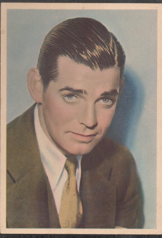 GODFREY PHILLIPS Clark Gable MINT CARD
