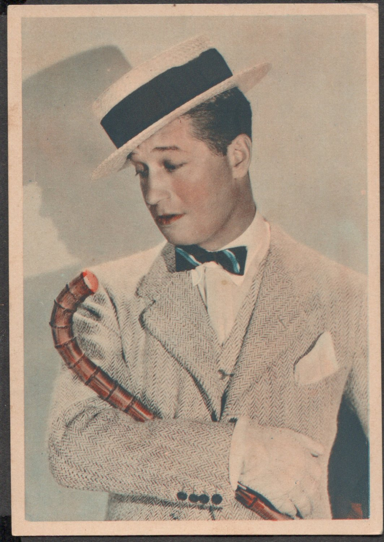 GODFREY PHILLIPS Maurice Chevalier MINT CARD