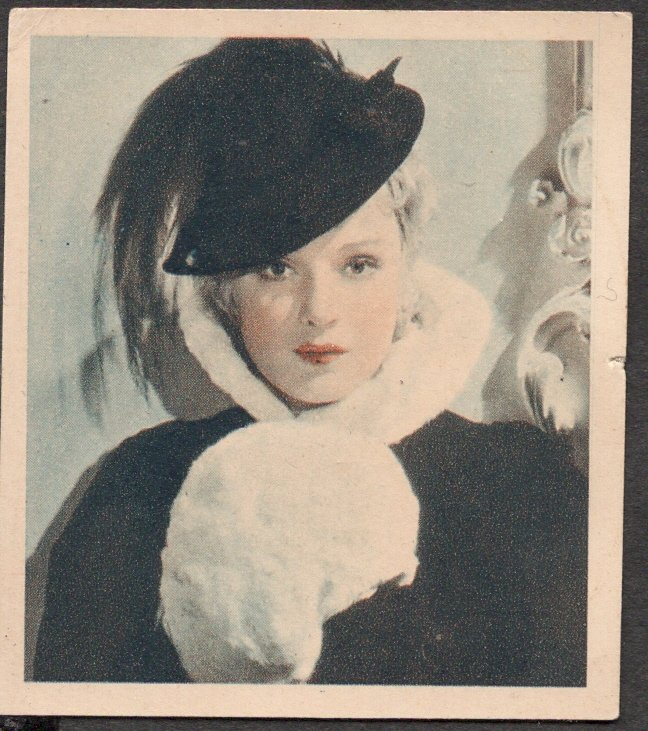 GODFREY PHILLIPS Anna Sten MINT CARD SHOTS FROM THE FILMS