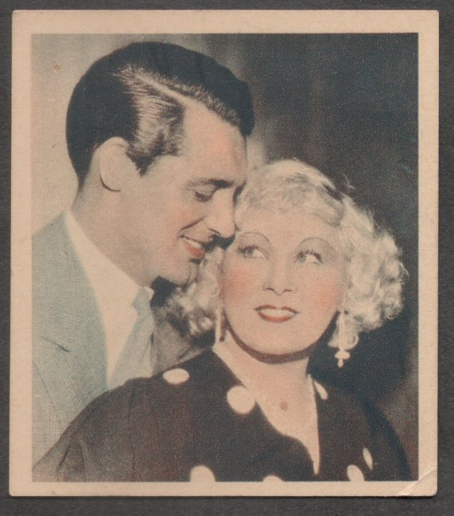 GODFREY PHILLIPS Mae West and Cary Grant MINT CARD SHOTS FROM THE FILMS