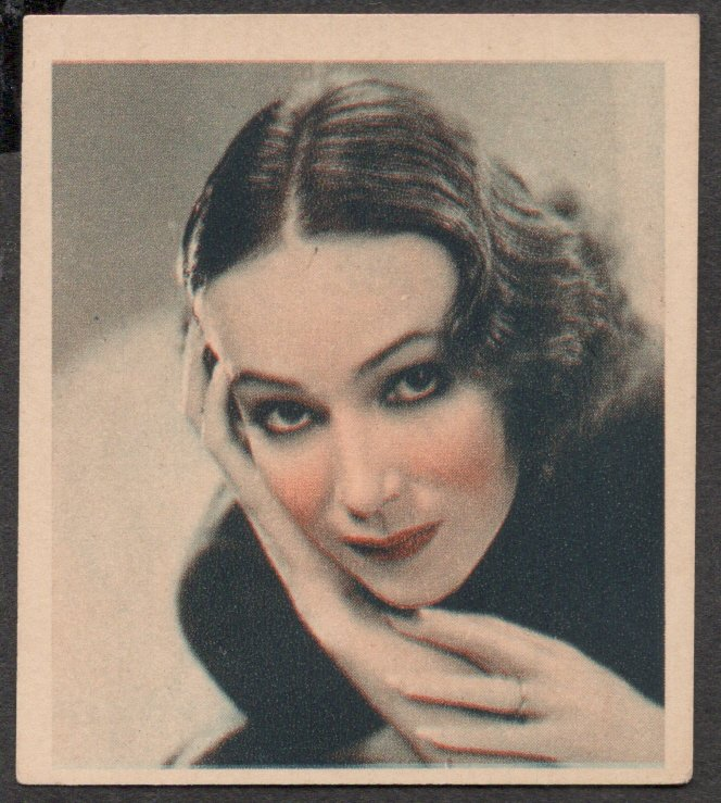 GODFREY PHILLIPS Dolores Del Rio MINT CARD SHOTS FROM THE FILMS
