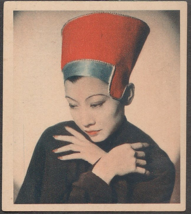 GODFREY PHILLIPS Anna May Wong MINT CARD SHOTS FROM THE FILMS